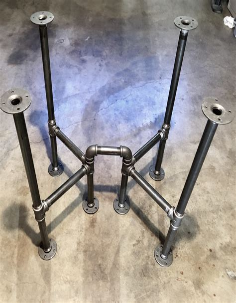 Diy-Metal-Pipe-Table-Base