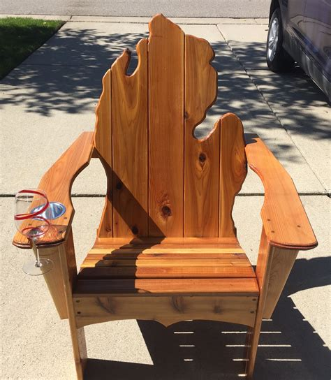 Diy-Michigan-Adirondack-Chair