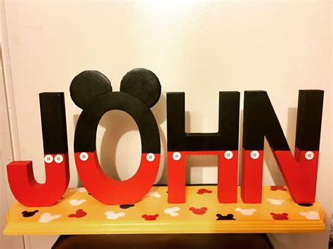 Diy-Mickey-Mouse-Wooden-Letters