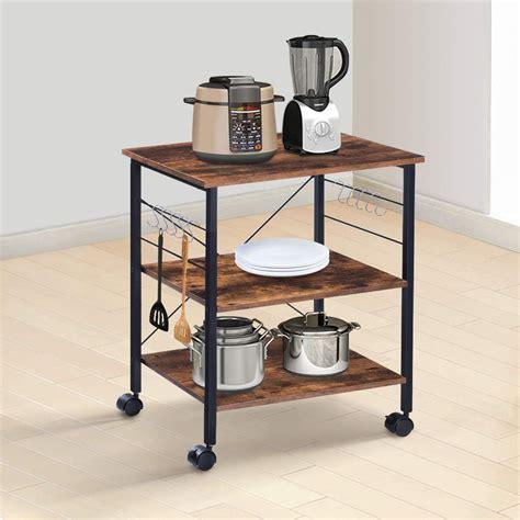 Diy-Microwave-Cart-Bakers-Rack