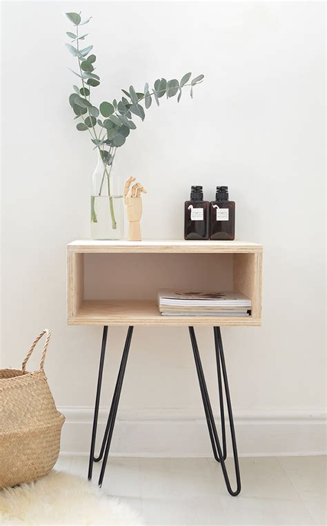 Diy-Mid-Century-Bedside-Table