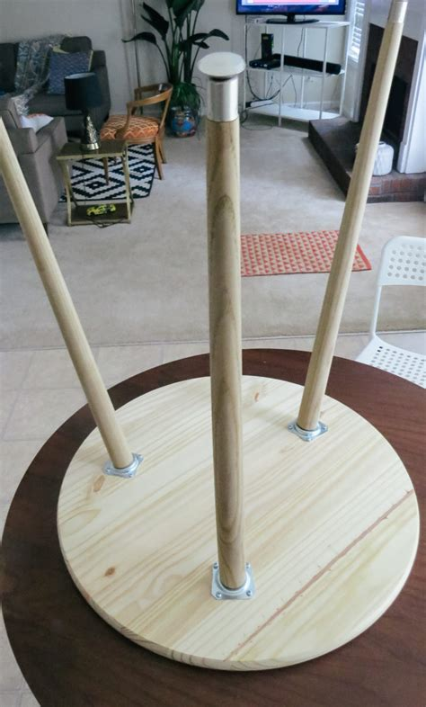 Diy-Midcentury-Side-Table