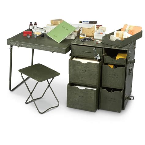 Diy-Military-Field-Desk