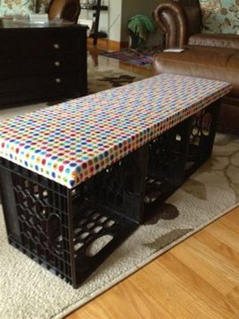 Diy-Milk-Crate-Bench