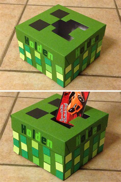 Diy-Minecraft-Creeper-Valentine-Box