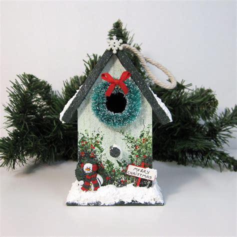 Diy-Mini-Christmas-Birdhouse