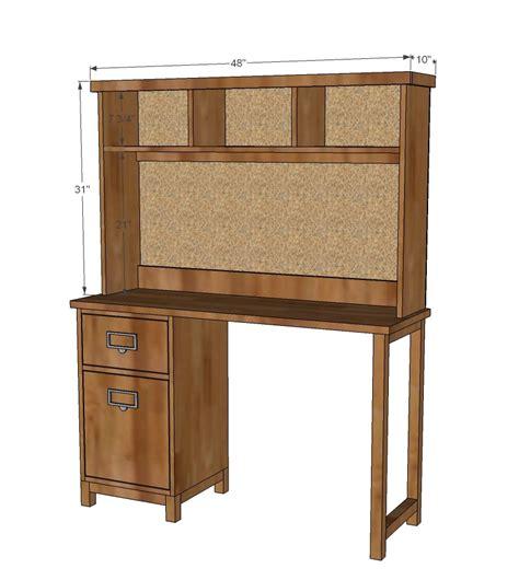 Diy-Mini-Desk-Hutch