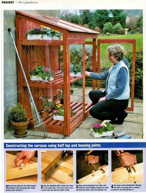 Diy-Mini-Greenhouse-Plans