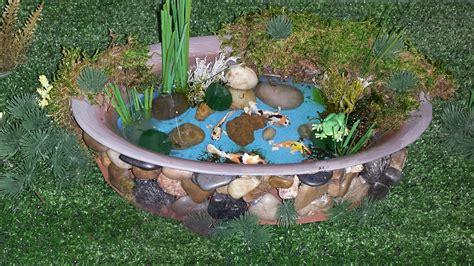 Diy-Mini-Koi-Pond