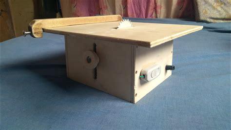 Diy-Mini-Table-Saw-Plans