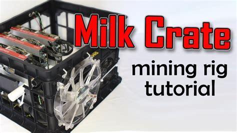 Diy-Mining-Rig-Milk-Crate
