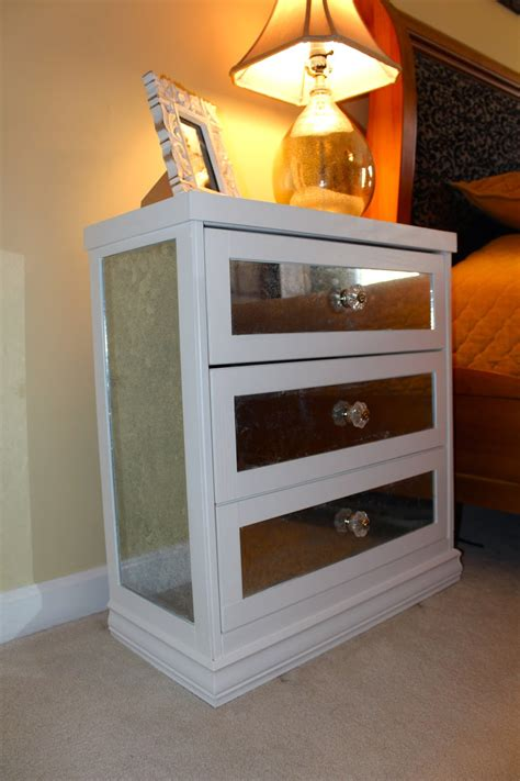 Diy-Mirrored-Nightstand-Ikea