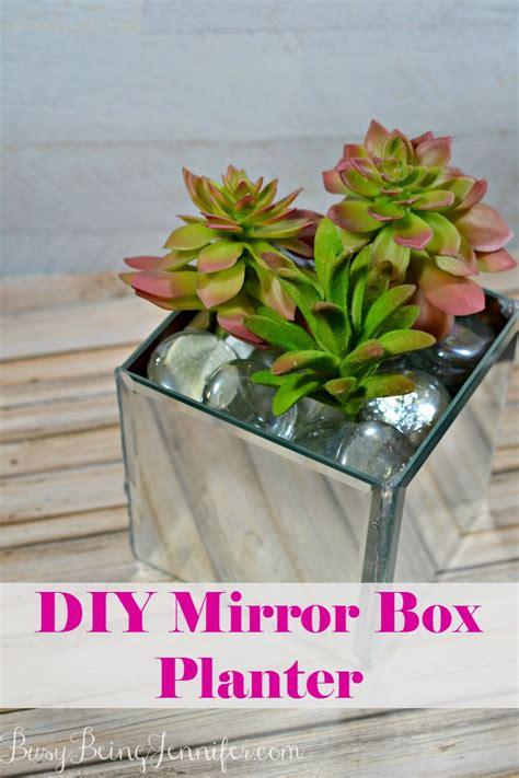 Diy-Mirrored-Planter-Box