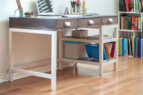 Diy-Modern-Desk-With-Drawers