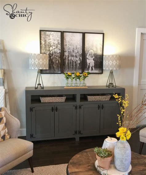 Diy-Modern-Farmhouse-Media-Console-Table