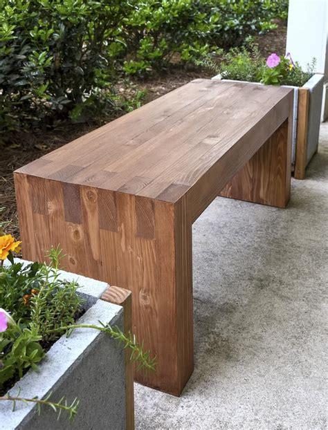 Diy-Modern-Garden-Bench
