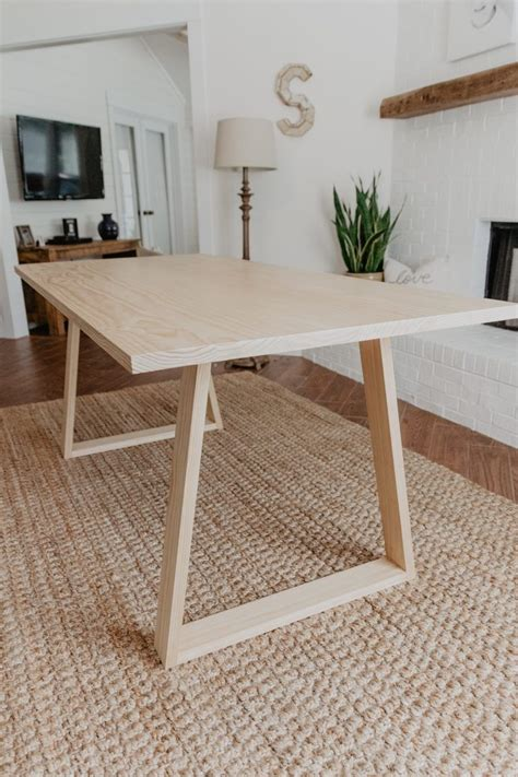 Diy-Modern-Wood-Dining-Table