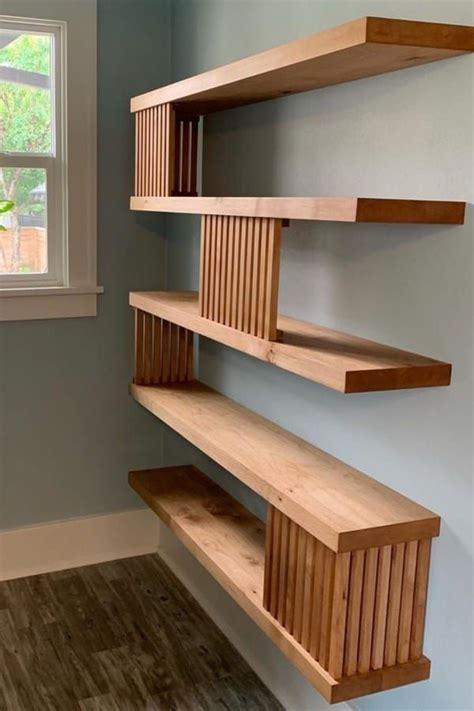 Diy-Modern-Wood-Shelf