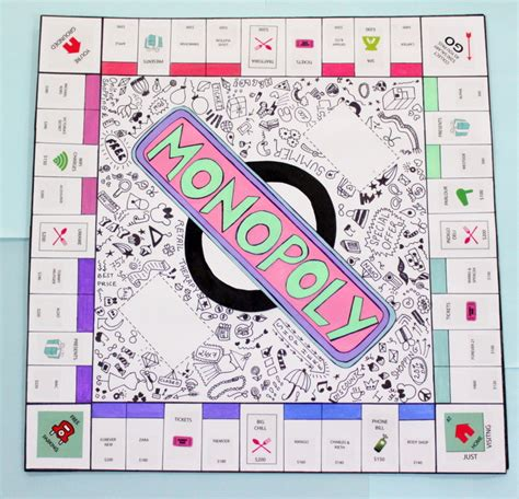 Diy-Monopoly-Board-Game