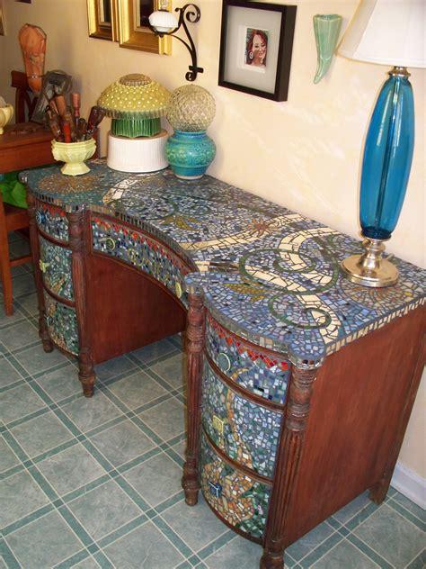 Diy-Mosaic-Dresser