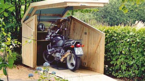 Diy-Motorcycle-Storage-Shed