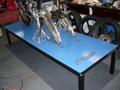 Diy-Motorcycle-Work-Bench
