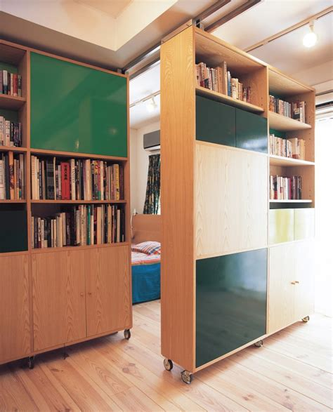 Diy-Movable-Bookcase