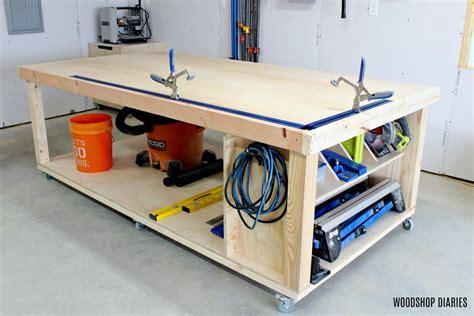 Diy-Movable-Workbench