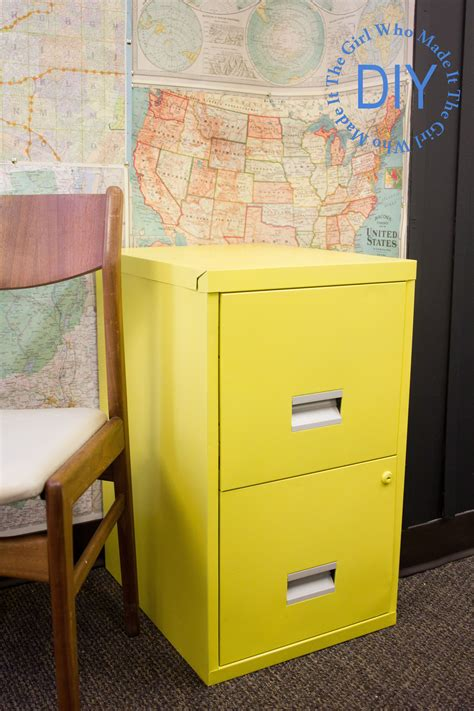 Diy-Moveable-Filing-Cabinet