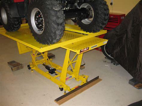 Diy-Mower-Lift-Table