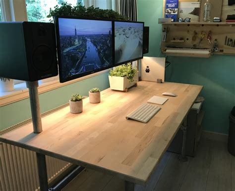 Diy-Multiple-Computer-Desk