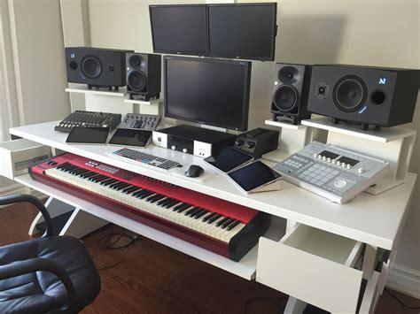 Diy-Music-Production-Desk-Ikea