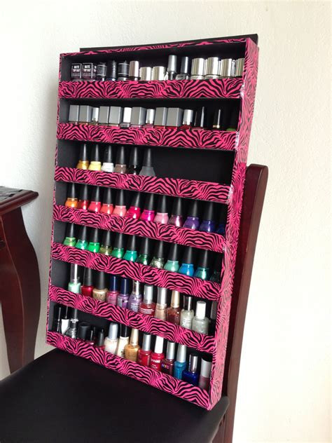 Diy-Nail-Polish-Rack-Poster-Board