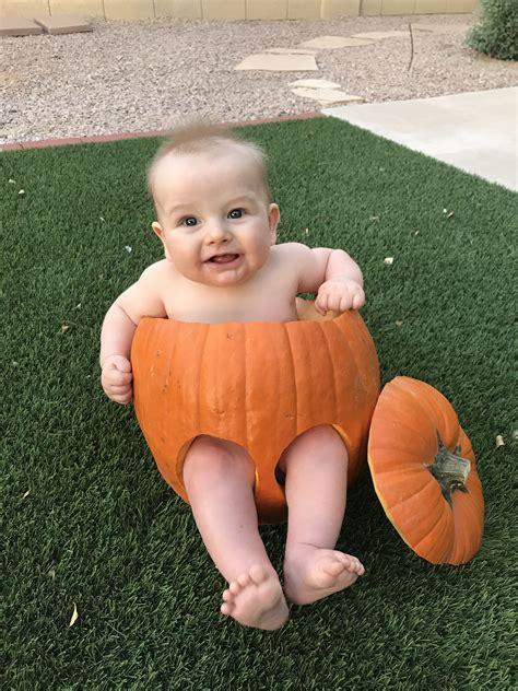Diy-Newborn-Pumpkin-Costume