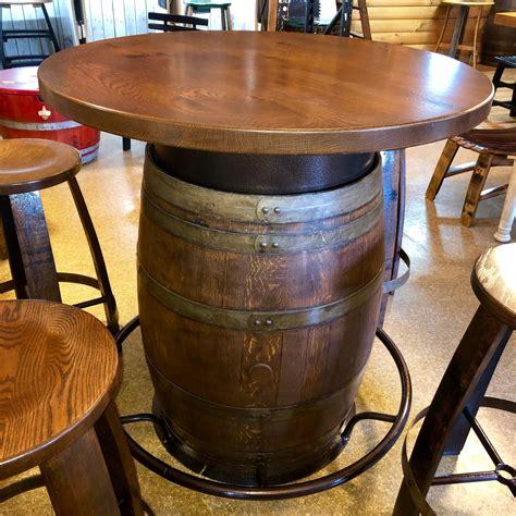 Diy-Oak-Barrel-Table