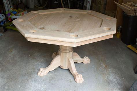 Diy-Octagon-Poker-Table