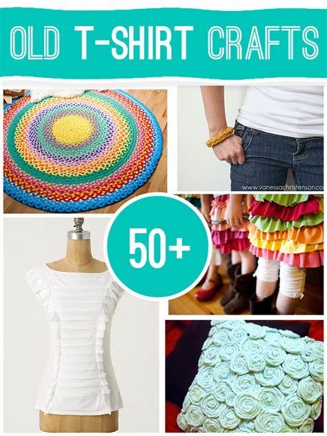 Diy-Old-T-Shirt-Projects