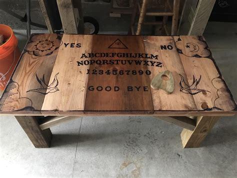 Diy-Ouija-Board-Coffee-Table