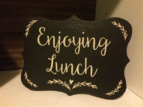 Diy-Out-To-Lunch-Desk-Sign