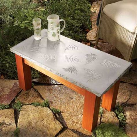 Diy-Outdoor-Cement-Table