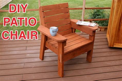 Diy-Outdoor-Chair-Plans