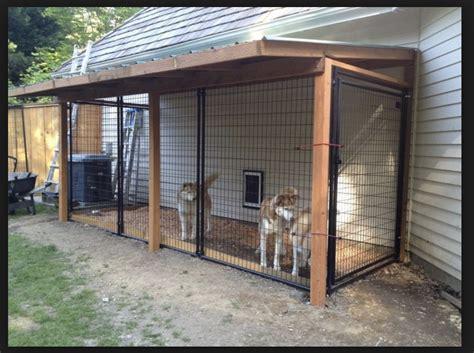 Diy-Outdoor-Dog-Kennel-Plans