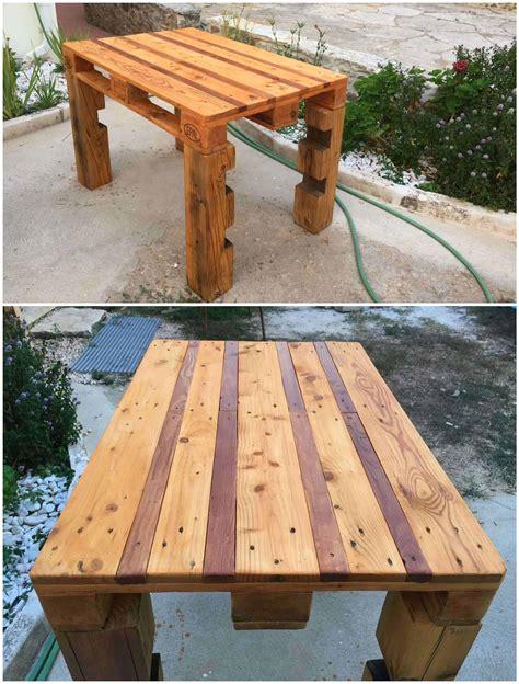 Diy-Outdoor-Pallet-Table