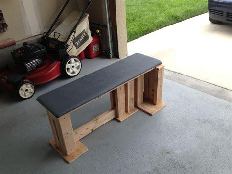 Diy-Outdoor-Weight-Bench