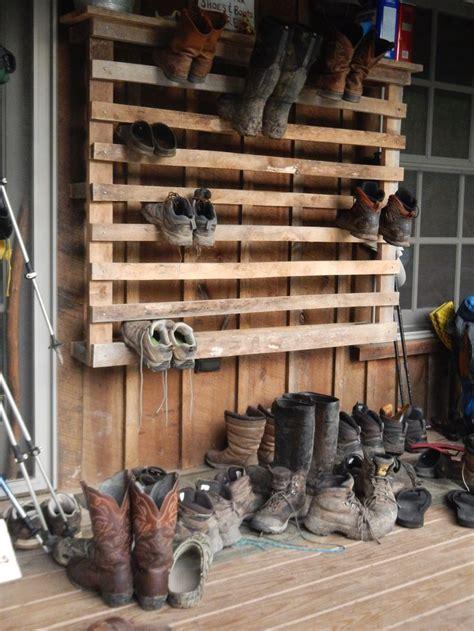 Diy-Outside-Shoe-Rack