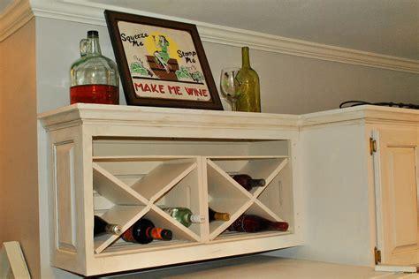 Diy-Over-The-Fridge-Wine-Rack