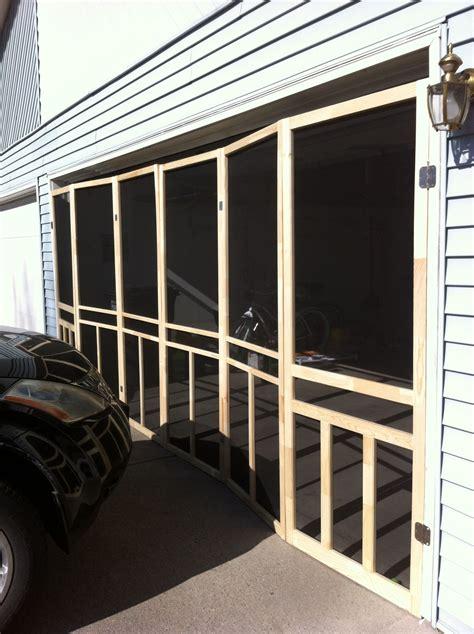 Diy-Overhead-Door-Screen