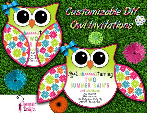 Diy-Owl-Invitation-Template
