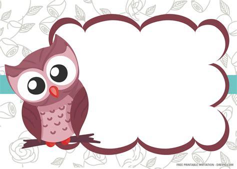 Diy-Owl-Invitation-Template-Free