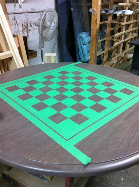 Diy-Paint-Chess-Board-On-Table